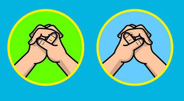 Thử đan 2 tay vào nhau xem, biết đâu bạn lại là một của hiếm ở trên hành tinh này đấy! - Ảnh 1.