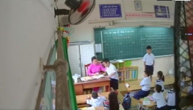 Bí mật đặt máy quay, phát hiện cô giáo ở TPHCM liên tục đánh học trò: Cảm giác như cô thù hằn gì các em - Ảnh 1.