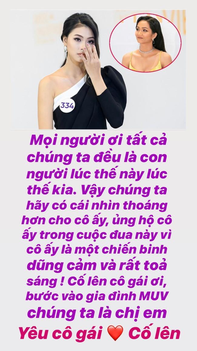 Hành động đáp trả đầy ngưỡng mộ của HHen Niê với thí sinh Hoa hậu Hoàn vũ Việt Nam từng mỉa mai mình - Ảnh 1.