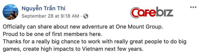 Cựu CEO Giao hàng Nhanh Nguyễn Trần Thi đầu quân cho công ty 3.000 tỷ của Vingroup, chuẩn bị rút toàn bộ vốn tại công ty cũ sau 7 năm gắn bó - Ảnh 1.