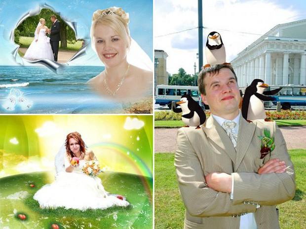 Hồn vía lên mây khi các phó nháy người Nga trổ tài photoshop ảnh cưới, báo hại gia chủ khóc dở mếu dở - Ảnh 13.