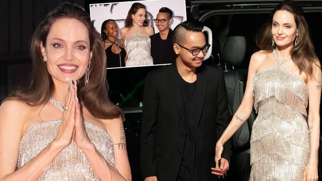 Màn giá lâm gây bão MXH Việt của Angelina Jolie: Tiên hắc ám thần thái như nữ hoàng, nhan sắc lột xác bất ngờ - Ảnh 4.