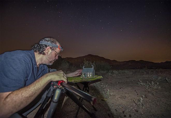 Ngắm những ánh trăng lừa dối tuyệt đẹp từ nghệ thuật chụp ảnh thiên văn bằng tiểu cảnh - Ảnh 4.
