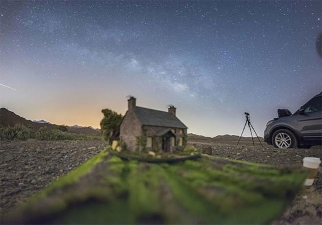 Ngắm những ánh trăng lừa dối tuyệt đẹp từ nghệ thuật chụp ảnh thiên văn bằng tiểu cảnh - Ảnh 6.