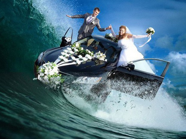 Hồn vía lên mây khi các phó nháy người Nga trổ tài photoshop ảnh cưới, báo hại gia chủ khóc dở mếu dở - Ảnh 7.