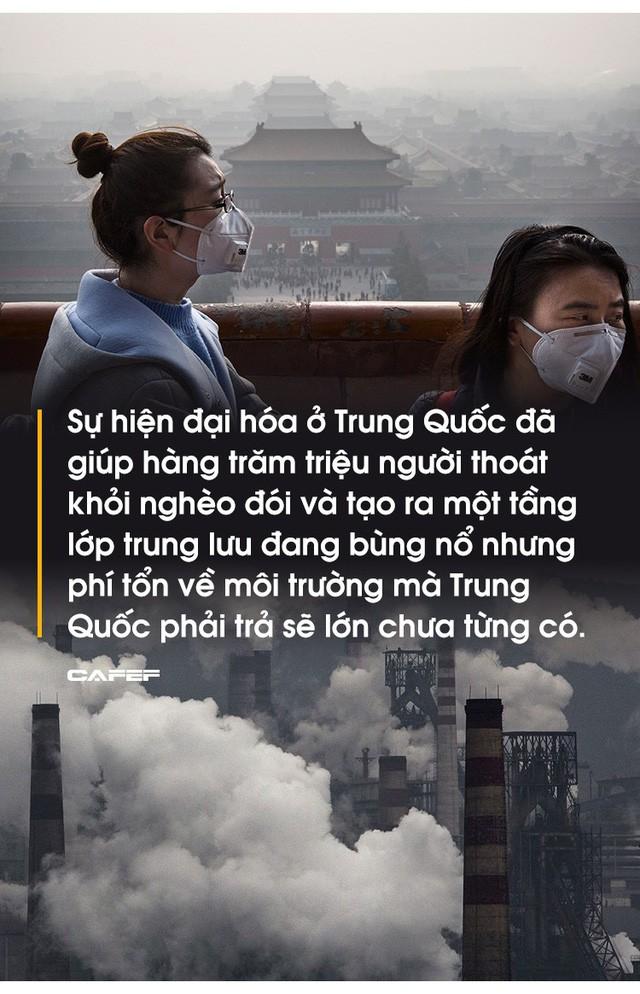 Hàng trăm triệu người thoát nghèo, kinh tế tăng trưởng thần tốc nhưng cái giá mà Bắc Kinh phải trả quá đắt: 80% các thành phố ô nhiễm, 1,2 triệu người  chết sớm vì ô nhiễm - Ảnh 2.