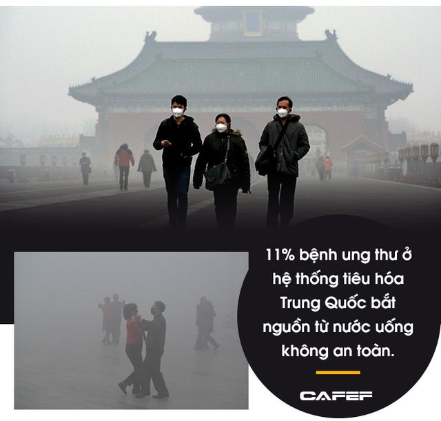 Hàng trăm triệu người thoát nghèo, kinh tế tăng trưởng thần tốc nhưng cái giá mà Bắc Kinh phải trả quá đắt: 80% các thành phố ô nhiễm, 1,2 triệu người  chết sớm vì ô nhiễm - Ảnh 7.