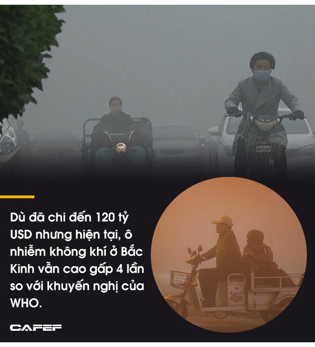 Hàng trăm triệu người thoát nghèo, kinh tế tăng trưởng thần tốc nhưng cái giá mà Bắc Kinh phải trả quá đắt: 80% các thành phố ô nhiễm, 1,2 triệu người  chết sớm vì ô nhiễm - Ảnh 9.