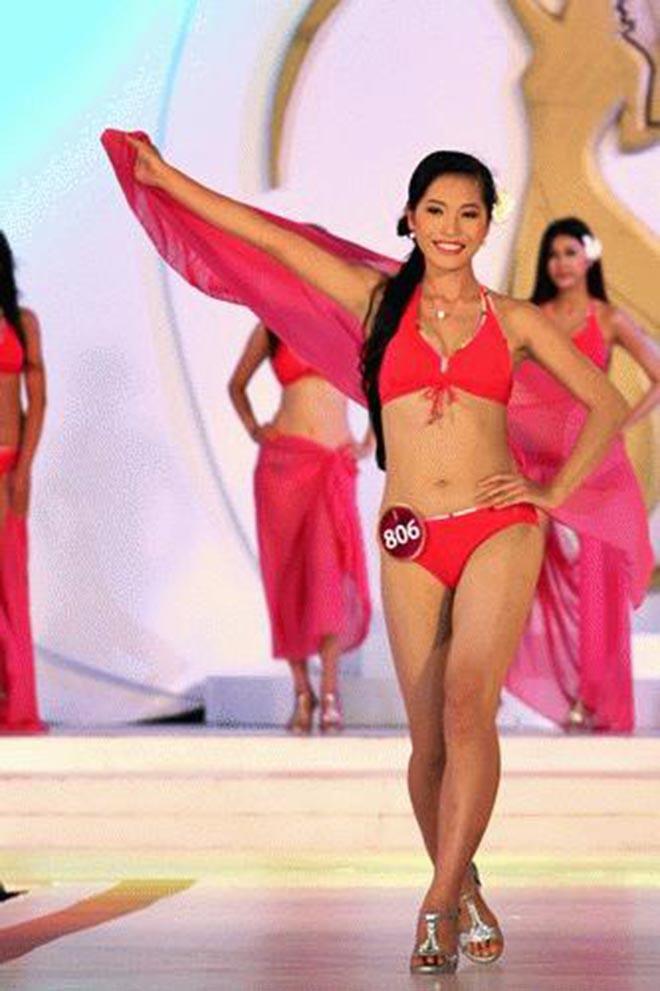 Mái tóc dài kỉ lục và ảnh bikini gợi cảm của vợ shark Hưng thời thi hoa hậu - Ảnh 6.