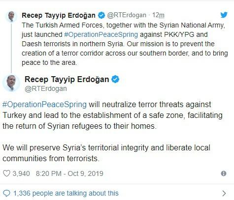Thổ Nhĩ Kỳ chính thức tấn công vào Syria với quy mô lớn chưa từng có - Trung Đông rực lửa - Ảnh 9.