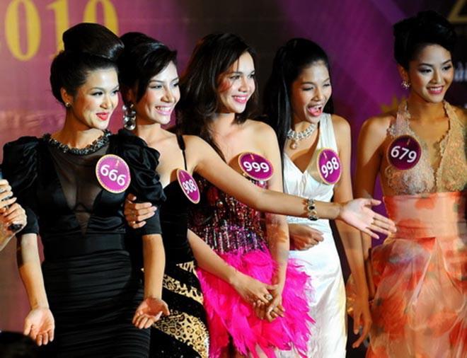 Nhan sắc thời còn son của hoa hậu Việt đang mang thai con thứ 6 cho đại gia - Ảnh 4.