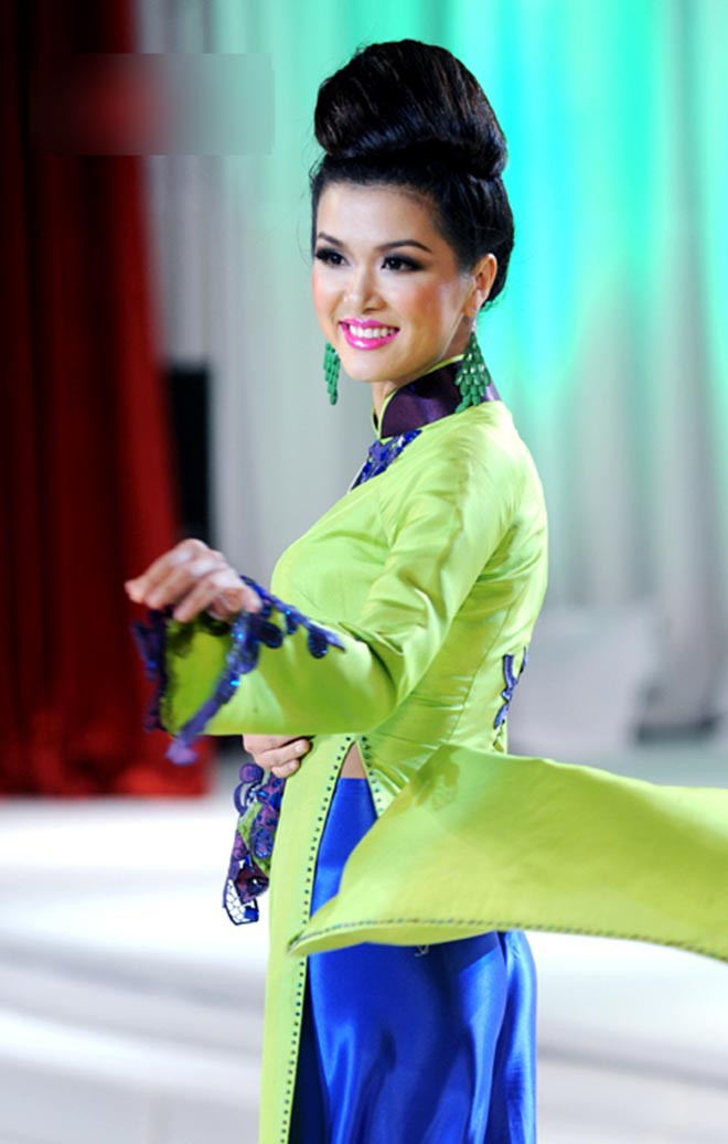 Nhan sắc thời còn son của hoa hậu Việt đang mang thai con thứ 6 cho đại gia - Ảnh 3.