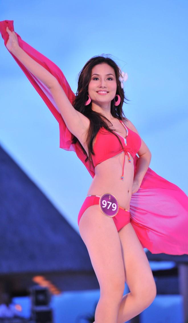 Nhan sắc thời còn son của hoa hậu Việt đang mang thai con thứ 6 cho đại gia - Ảnh 9.