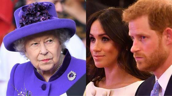 Nữ hoàng Anh không hài lòng về việc vợ chồng cháu trai khởi kiện báo Anh.