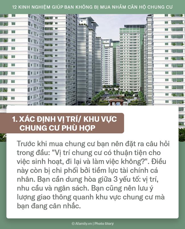 12 kinh nghiệm bổ ích được truyền lại từ những người đi trước dành cho ai đang có ý định mua chung cư - Ảnh 1.