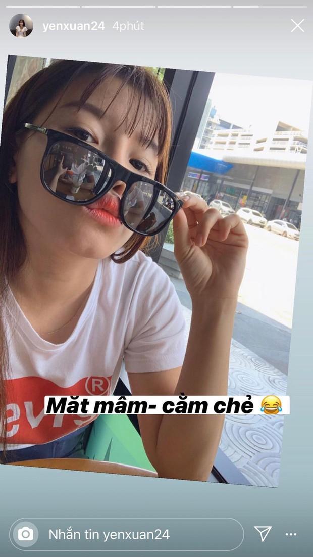 Yến Xuân đáp trả tin đồn lục đục tình cảm với Lâm Tây bằng 1 bức ảnh selfie khoe hạnh phúc mà tinh mắt lắm mới nhìn ra - Ảnh 3.