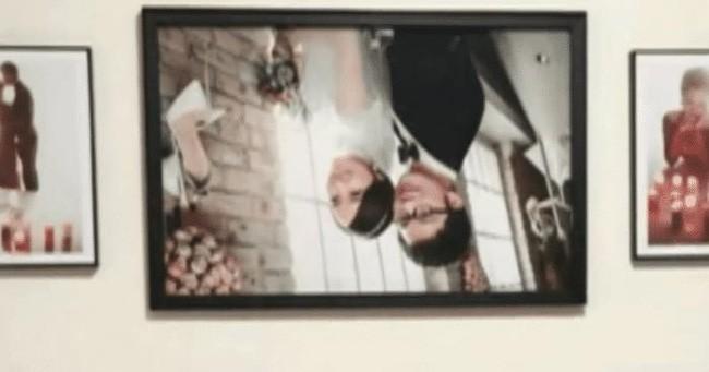 Ảnh cưới trên tường đột ngột rơi xuống để lộ 2 đôi mắt nhìn chằm chằm khiến đôi vợ chồng hốt hoảng, quyết tìm studio nói chuyện phải trái - Ảnh 2.