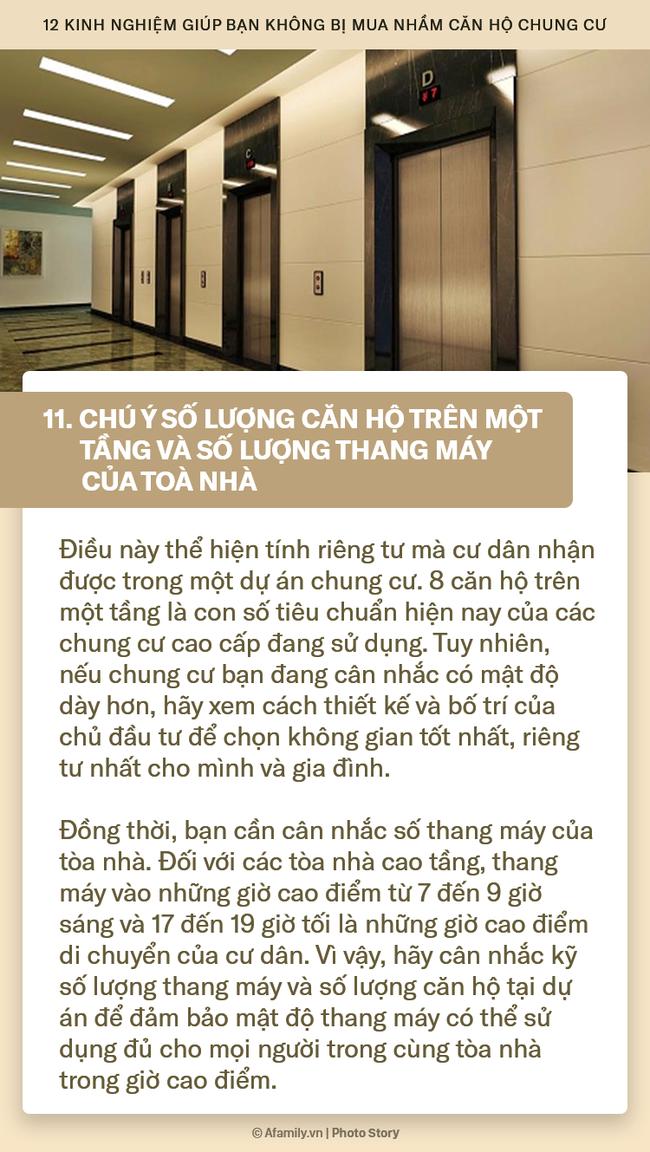 12 kinh nghiệm bổ ích được truyền lại từ những người đi trước dành cho ai đang có ý định mua chung cư - Ảnh 11.