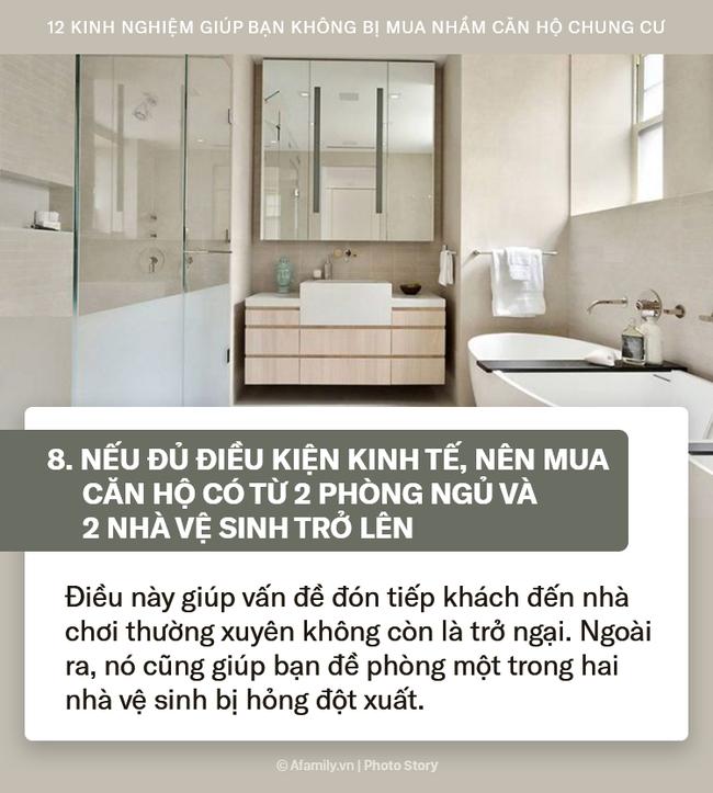 12 kinh nghiệm bổ ích được truyền lại từ những người đi trước dành cho ai đang có ý định mua chung cư - Ảnh 8.