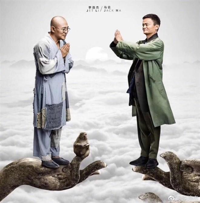 """""""Tỷ phú giàu nhất Trung Quốc"""" được Lý Liên Kiệt ra sức bảo vệ, nửa làng giải trí Hoa ngữ muốn kết thân - Ảnh 1."""