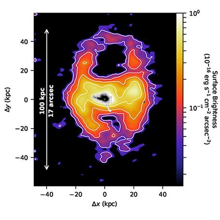 Lần đầu tiên khoa học chứng kiến gió thiên hà trải dài tới cả ngàn năm ánh sáng. Khoảng vài năm nữa thôi, Dải Ngân hà cũng chứng kiến cảnh tương tự! - Ảnh 2.