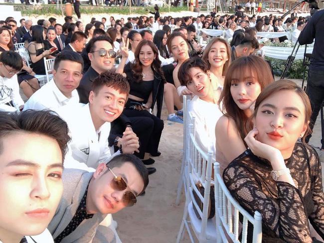 Gil Lê và Hoàng Thùy Linh không rời nhau nửa bước trong suốt lễ cưới của Đông Nhi - Ông Cao Thắng - Ảnh 5.