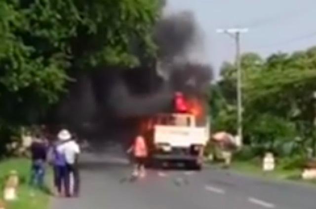 Người đàn ông tử vong sau khi bị xe tải cuốn vào gầm, kéo lê 15m  - Ảnh 1.