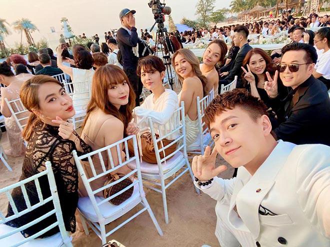 Đi ăn cưới Đông Nhi, Minh Hằng tranh thủ chụp loạt ảnh mặc bikini gợi cảm - Ảnh 6.