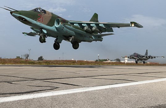 Nga âm thầm cho Su-25 trực chiến, sẵn sàng trút hỏa lực vào biên giới Syria-Thổ Nhĩ Kỳ - Ảnh 14.