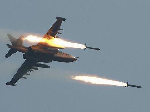 Nga âm thầm cho Su-25 trực chiến, sẵn sàng trút hỏa lực vào biên giới Syria-Thổ Nhĩ Kỳ - Ảnh 17.