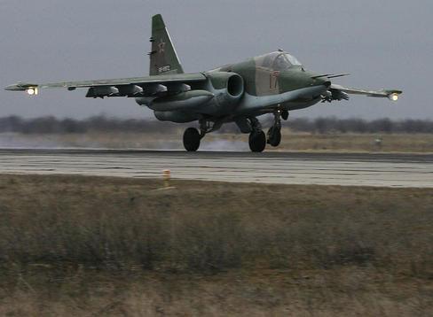 Nga âm thầm cho Su-25 trực chiến, sẵn sàng trút hỏa lực vào biên giới Syria-Thổ Nhĩ Kỳ - Ảnh 4.