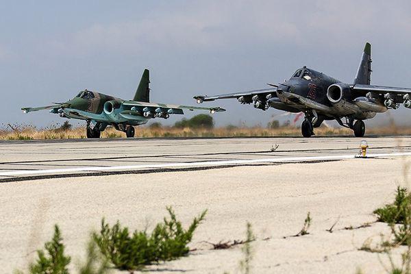 Nga âm thầm cho Su-25 trực chiến, sẵn sàng trút hỏa lực vào biên giới Syria-Thổ Nhĩ Kỳ - Ảnh 7.