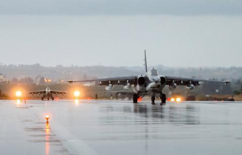 Nga âm thầm cho Su-25 trực chiến, sẵn sàng trút hỏa lực vào biên giới Syria-Thổ Nhĩ Kỳ - Ảnh 10.