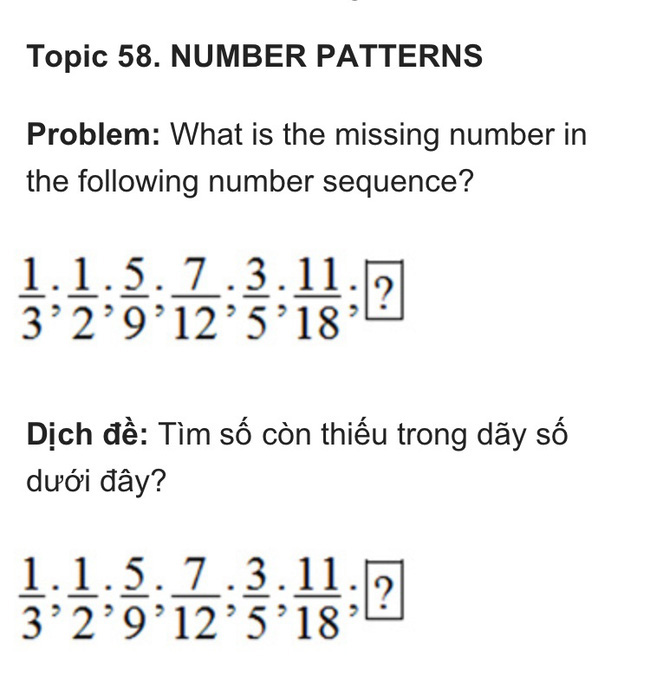 Nếu làm được bài toán lớp 5 trong kỳ thi học sinh giỏi này thì xin chúc mừng, IQ của con bạn không phải dạng vừa đâu - Ảnh 1.