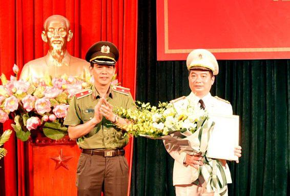 Công bố quyết định bổ nhiệm lãnh đạo Công an 4 tỉnh - Ảnh 1.