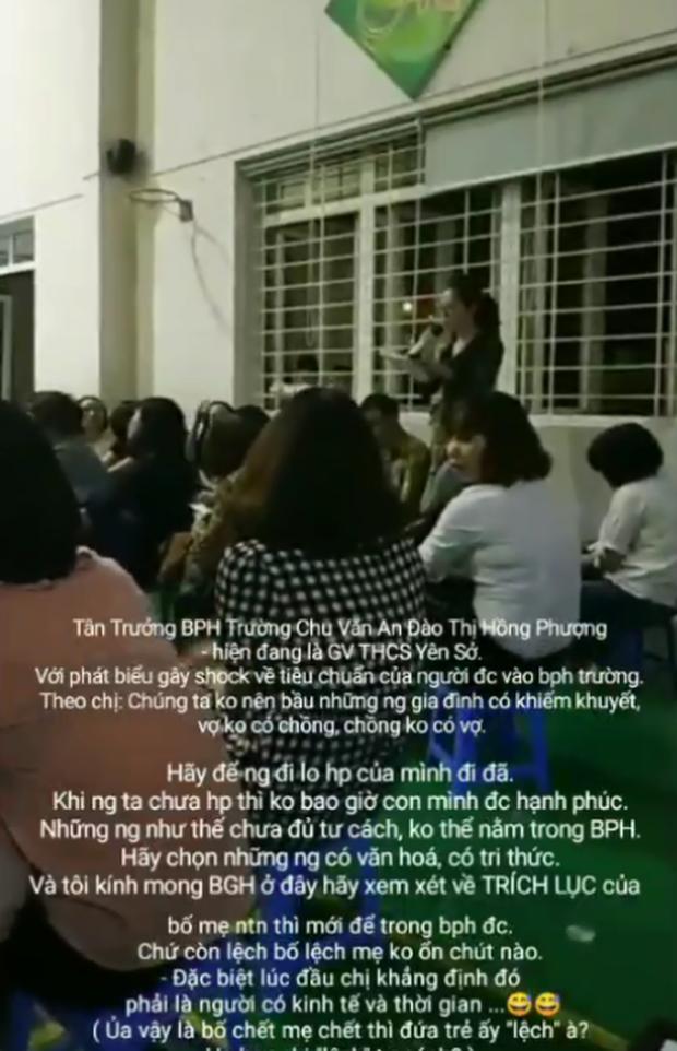 Hội trưởng hội phụ huynh gây phẫn nộ với lời phát biểu sốc vì kỳ thị cha mẹ đơn thân và gia đình nghèo - Ảnh 2.