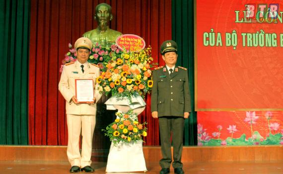 Công bố quyết định bổ nhiệm lãnh đạo Công an 4 tỉnh - Ảnh 2.