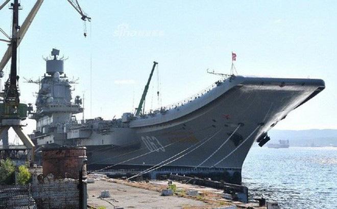Phi công hải quân Nga buộc phải luyện tập trên... tàu sân bay hỏng? - ảnh 4