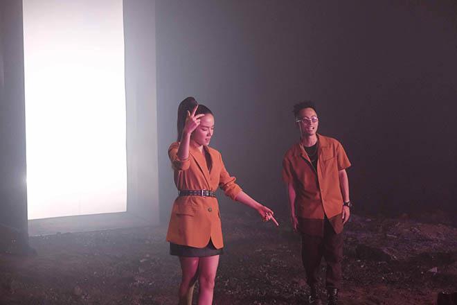 Phương Ly bắt tay với Hoàng Touliver, Rhymastic trong dự án mới - Ảnh 4.