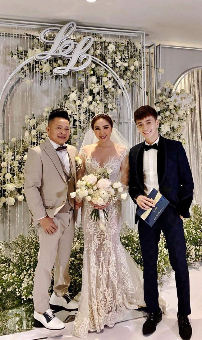 Cập nhật từ đám cưới Bảo Thy: Cô dâu chú rể cực đẹp đôi, dàn khách mời check-in trong không gian sang chảnh nhất TP.HCM - ảnh 1