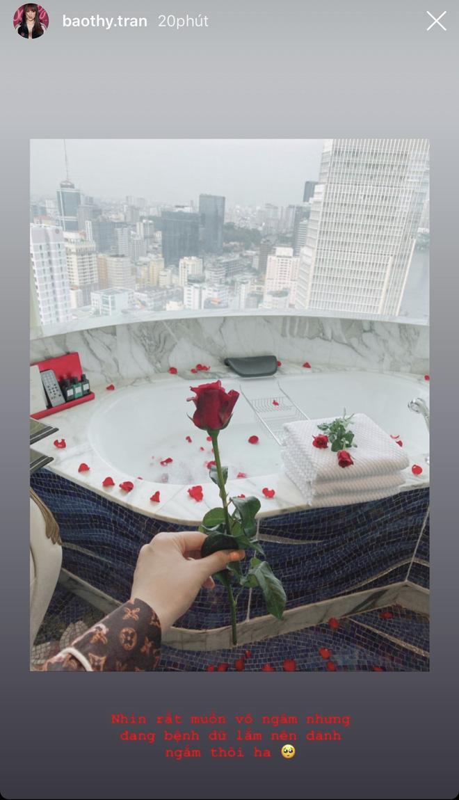 Bảo Thy tự tiết lộ căn phòng tân hôn trong khách sạn 6 sao đẳng cấp nhất TP.HCM - ảnh 2