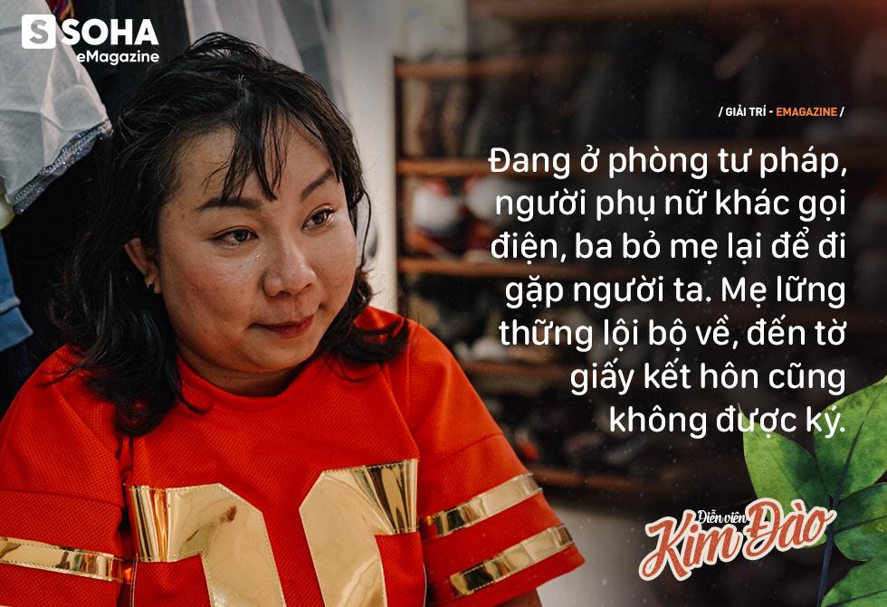 Diễn viên Kim Đào: Mẹ bị hành hạ, phải sinh con ở chuồng heo vì bà nội bảo không hợp tuổi - Ảnh 9.