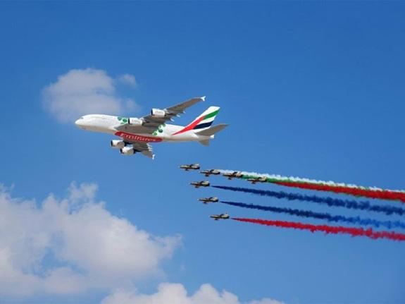 Khai mạc Triển lãm Hàng không Dubai 2019 - Ảnh 2.