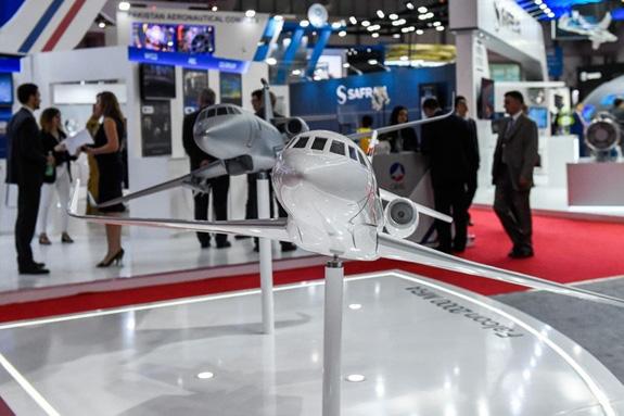 Khai mạc Triển lãm Hàng không Dubai 2019 - Ảnh 12.