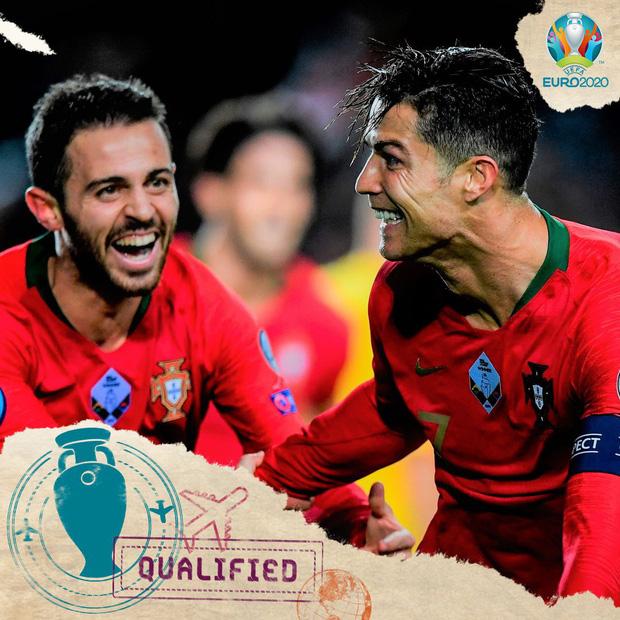 Ronaldo ghi bàn thắng dễ bậc nhất trong sự nghiệp, Bồ Đào Nha chính thức có vé đến thẳng Euro 2020 - Ảnh 8.