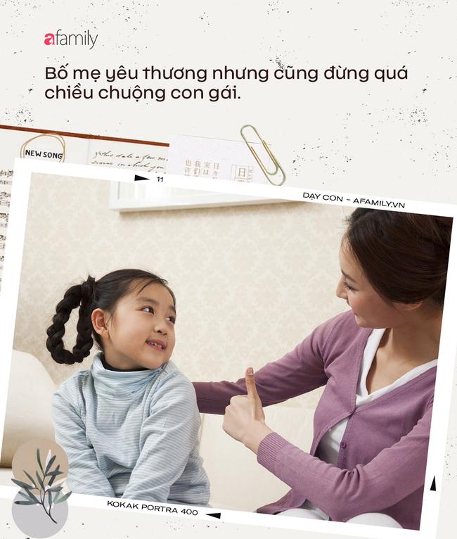Muốn con gái một đời hạnh phúc, cha mẹ cần tránh tuyệt đối 5 sai lầm nuôi dạy sau - Ảnh 3.