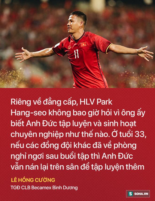 Tạm biệt anh, chàng ngự lâm quân sát cánh cùng thầy Park đưa Việt Nam đến vinh quang! - Ảnh 2.
