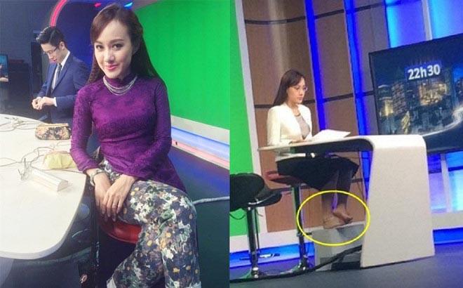Hậu trường các MC nổi tiếng dẫn trên VTV: Đi chân trần, mặc cả nội y để ghi hình  - Ảnh 6.