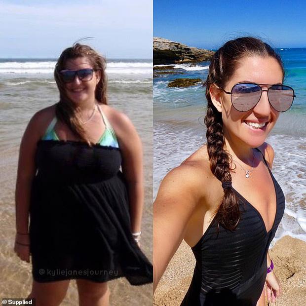 Tăng cân không kiểm soát suốt gần 1 thập kỷ, cô gái quyết tâm giảm liền 55 kg để mặc vừa chiếc váy cưới trong ngày trọng đại - Ảnh 1.