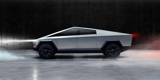 Tesla ra mắt Cybertruck: tăng tốc nhanh hơn cả siêu xe thể thao, vỏ chống đạn, có thể chạy 800 km mới cần sạc pin, giá khởi điểm 39.900 USD - Ảnh 1.